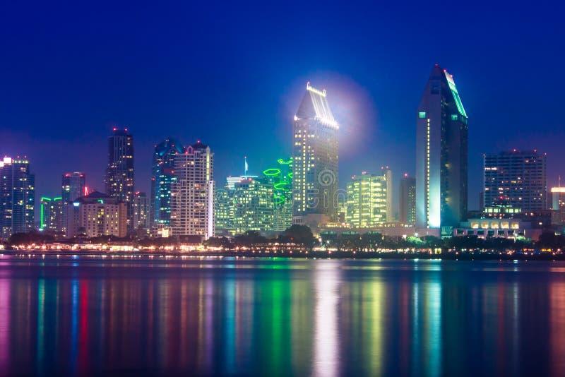 San Diego Skyline royalty free stock photography