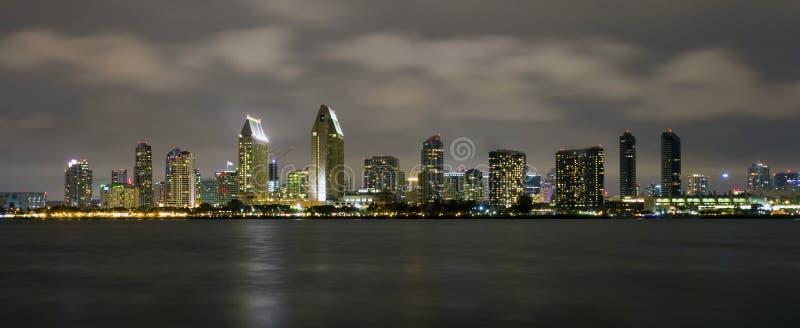 San Diego skyline royalty free stock photos