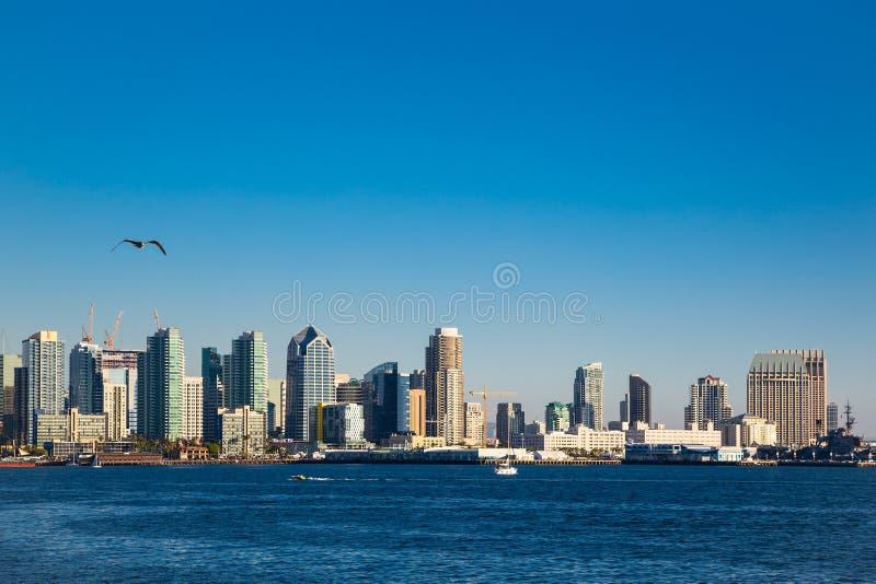 San Diego. Skyline of San Diego, united states stock photography