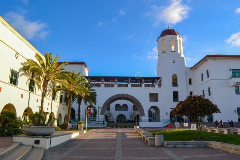 San Diego State Campus photos stock