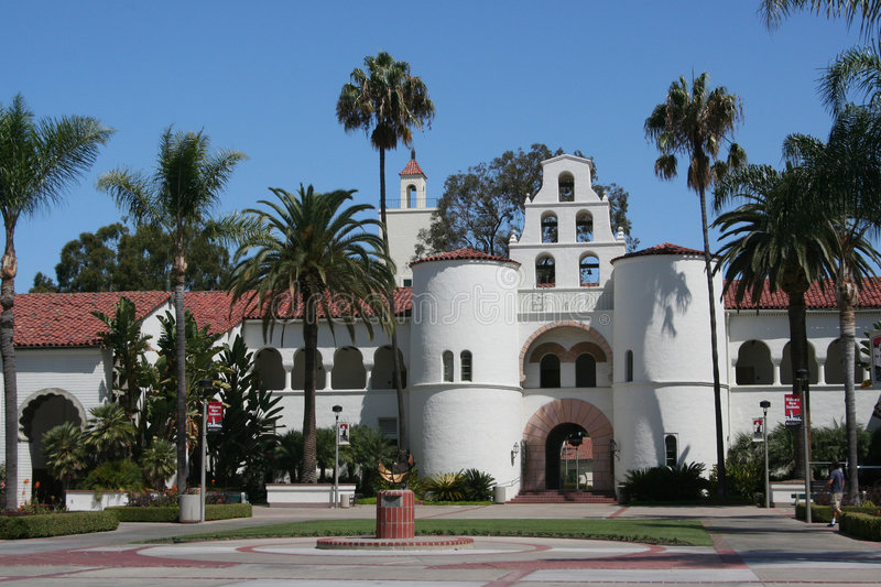 Download San Diego State University stock photo. Image of building - 6140036