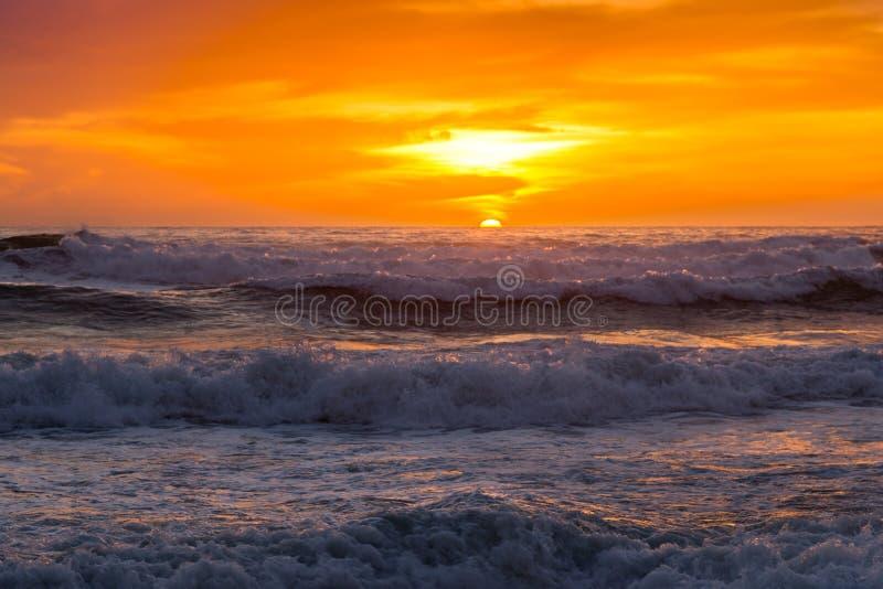 San Diego Sunset foto de stock