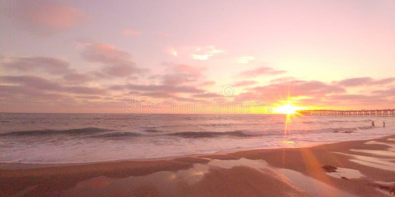San Diego Sunset fotografia stock libera da diritti