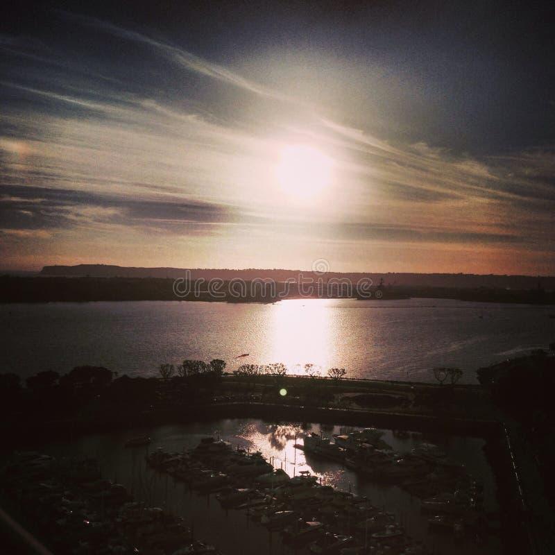 San Diego Sunset fotografía de archivo libre de regalías