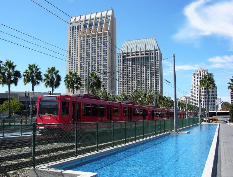 San diego transport publiczny zdjęcia stock