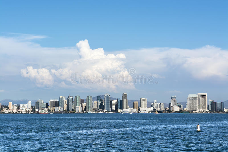 San Diego van de binnenstad royalty-vrije stock foto's