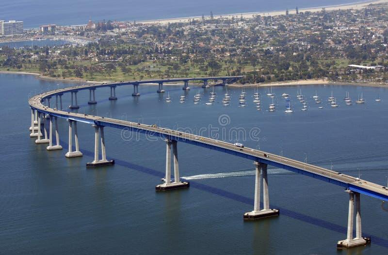 San Diego vous accueille photographie stock libre de droits