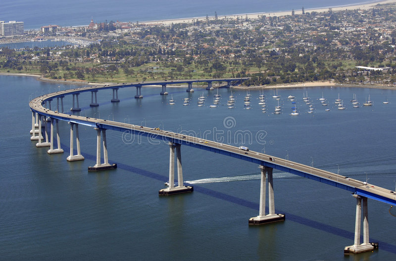 San Diego Welcomes You royalty free stock photography