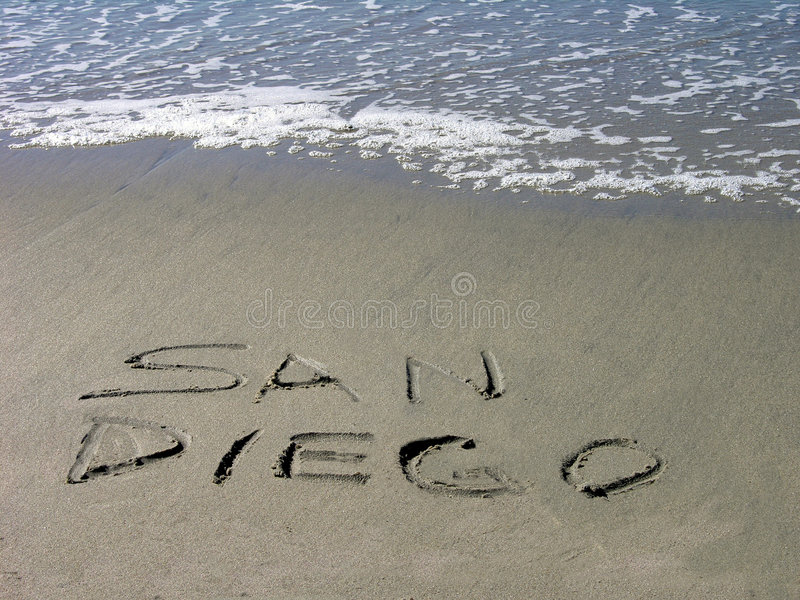 Download San Diego Welcomes You stock photo. Image of foamy, wave - 59214