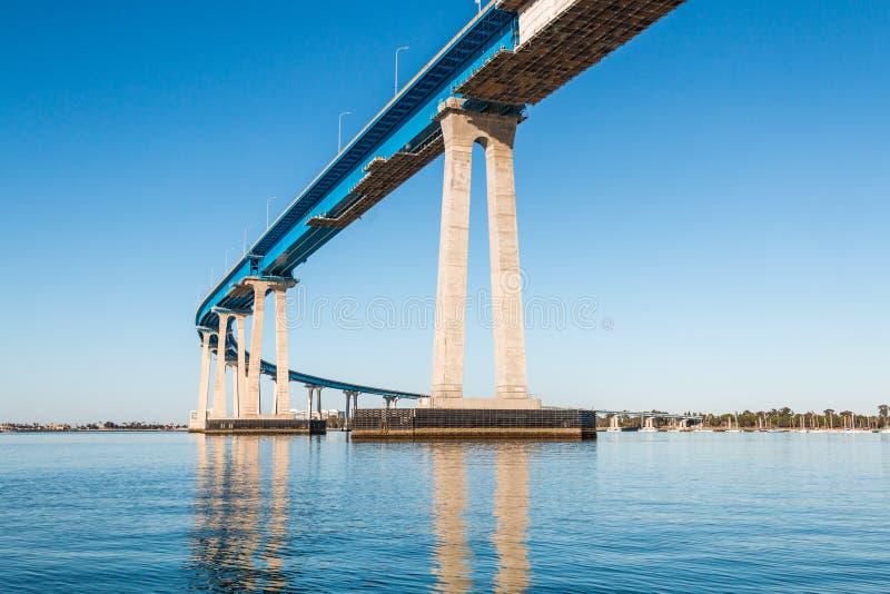 San diego zatoki mosta stanu trasa 75 fotografia stock