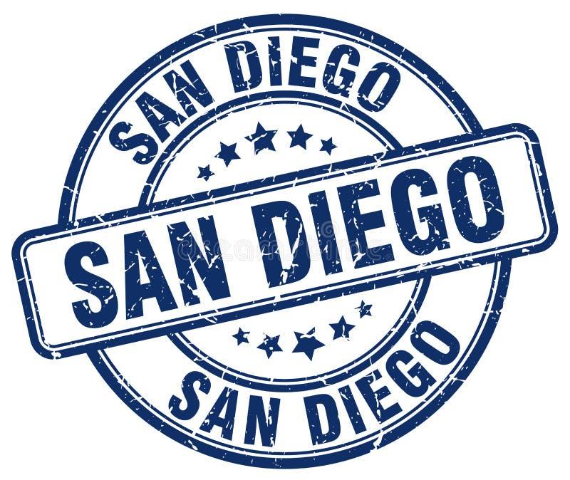 San Diego znaczek ilustracja wektor