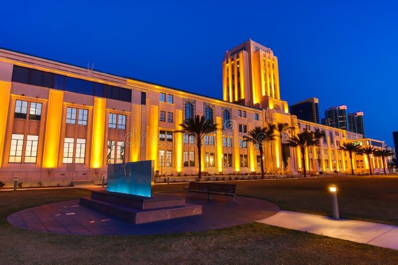 San Digo City Hall lizenzfreie stockbilder