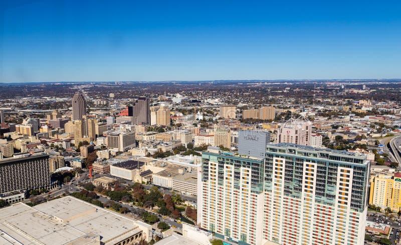San do centro Antonio Texas foto de stock royalty free