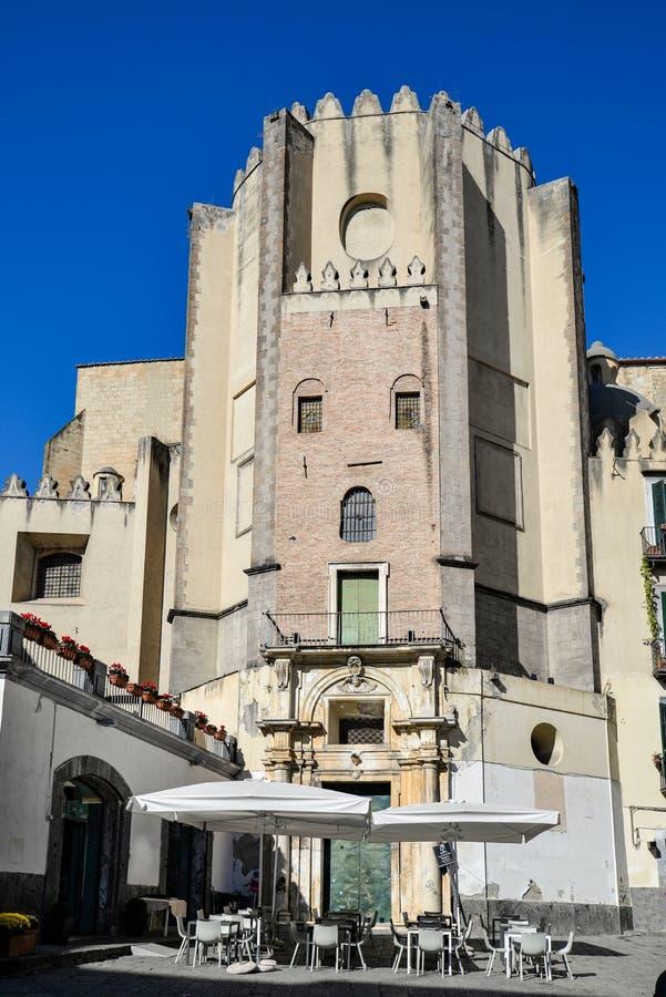San Domenico kościół w Naples, Włochy zdjęcie stock