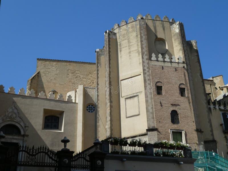 San Domenico Maggiore kościół w Naples obrazy stock