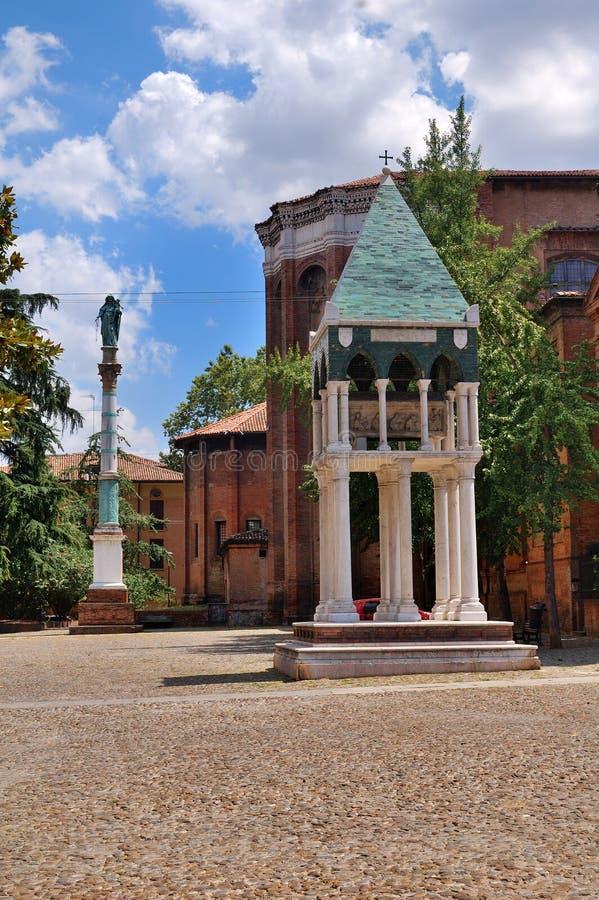 San Domingo en Bolonia fotos de archivo
