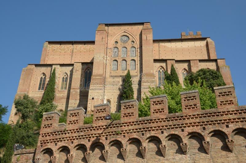 San Domingo (Siena) imagen de archivo