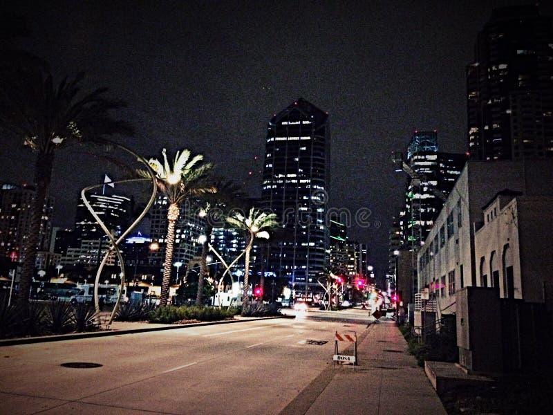 San du centre Diego California image libre de droits