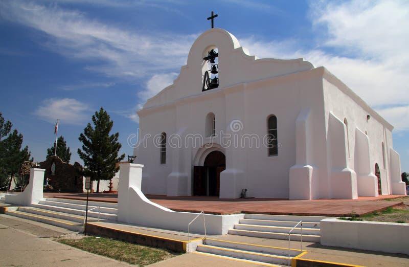San Elizario kapell royaltyfri bild