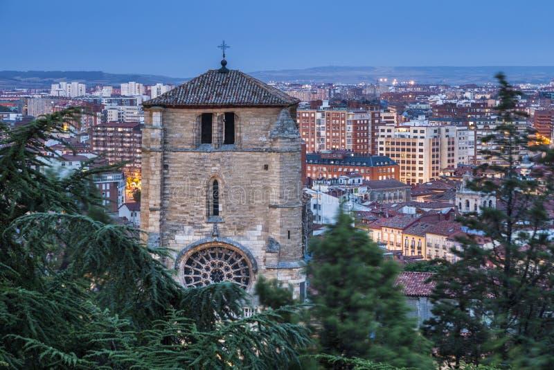 San Esteban Church en Burgos imágenes de archivo libres de regalías