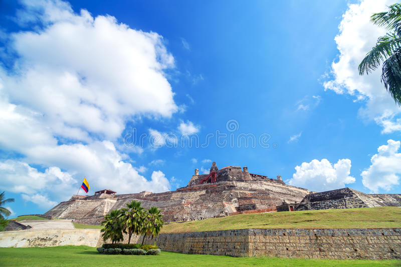 San Felipe de Barajas Castle imagem de stock