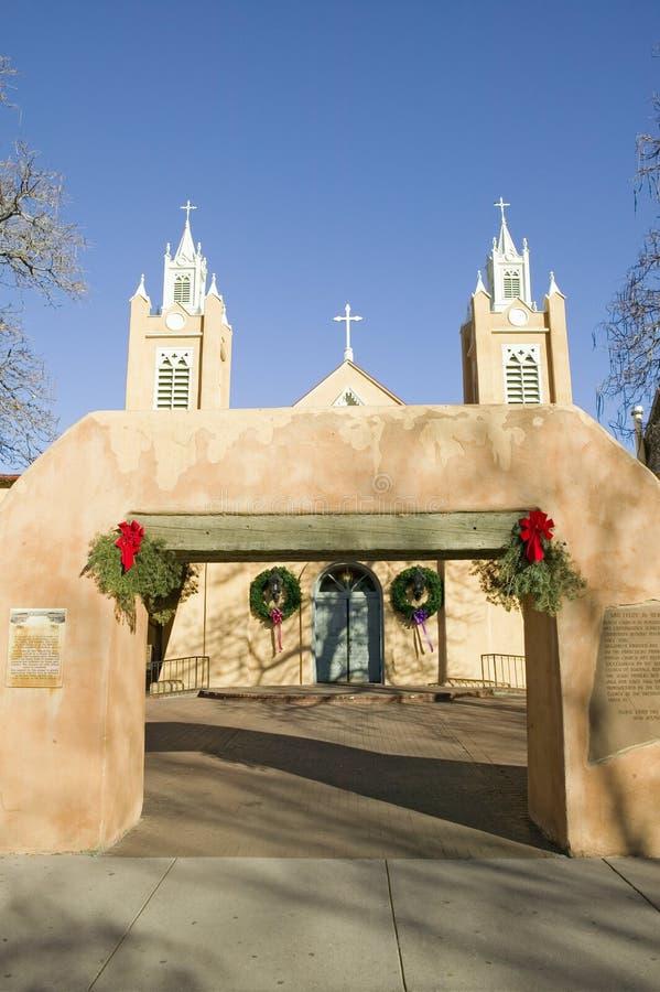 San Felipe de Neri Catholic Church está no nacional e os registros de estado de lugares históricos, são ficados situados na cidad fotos de stock royalty free