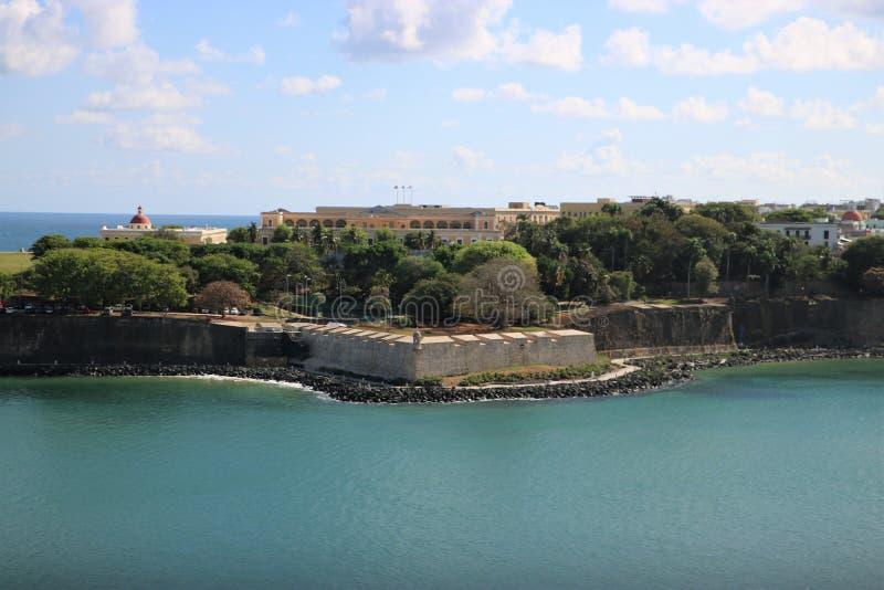 San Felipe del Morro Fortress, San Juan, Puerto Rico lizenzfreies stockfoto