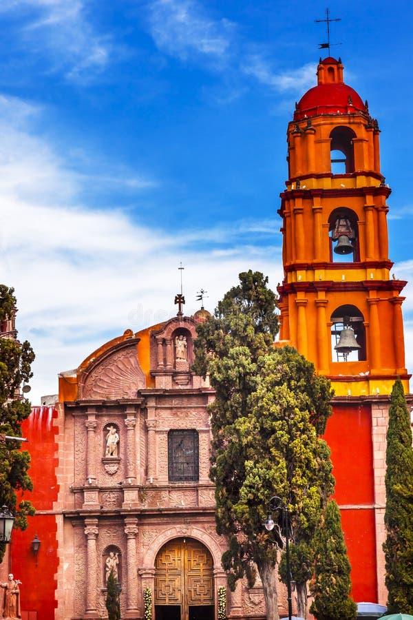 San Felipe Neri Church San Miguel Miguel DE Allende Mexico royalty-vrije stock foto