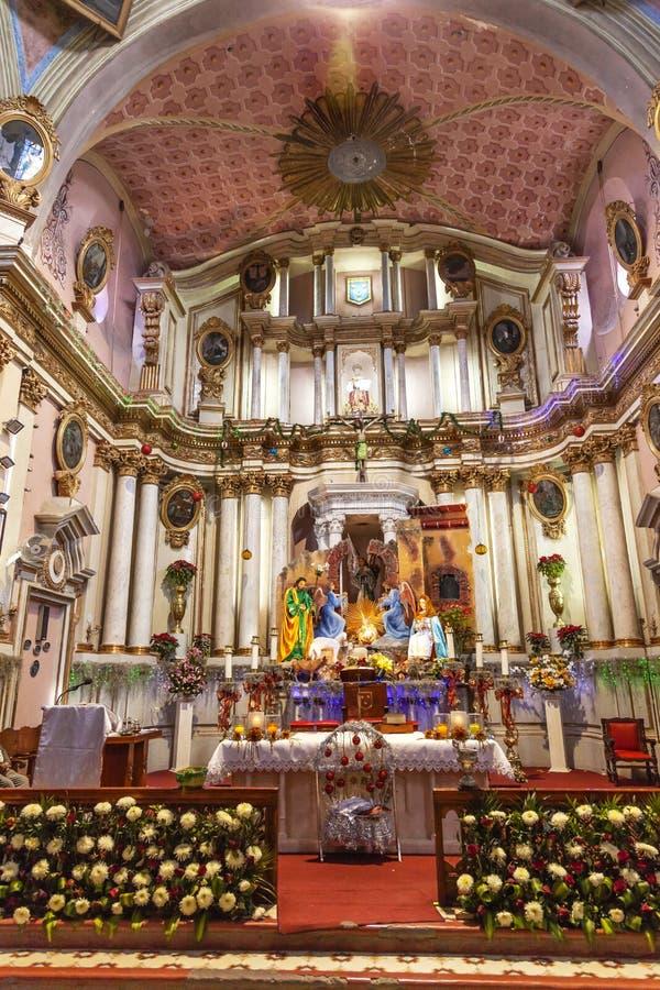 San Felipe Neri Church San Miguel Miguel de Allende Mexique photo stock