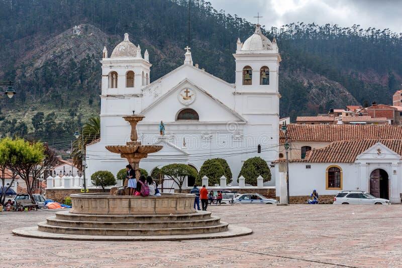 San Felipe Neri Monastery en Sucre, Bolivia imagen de archivo libre de regalías