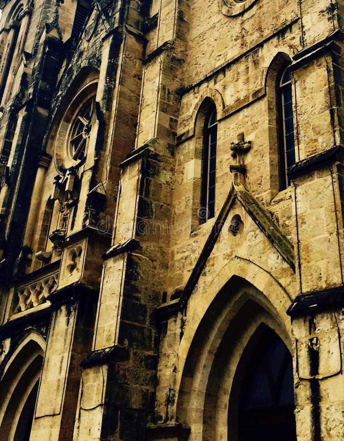 San Fernando Cathedral. The San Fernando Cathedral located in downtown San Antonio Texas stock image