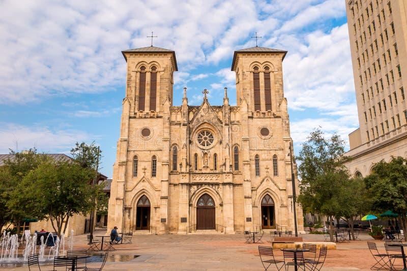 San Fernando katedra San Antonio obrazy stock