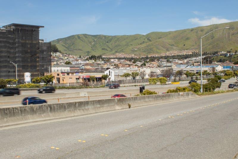 San Fran Hills royalty-vrije stock fotografie