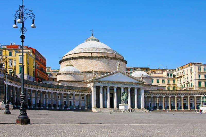 Download San Francesco Paola, Italy, Naples Stock Image - Image: 18424613