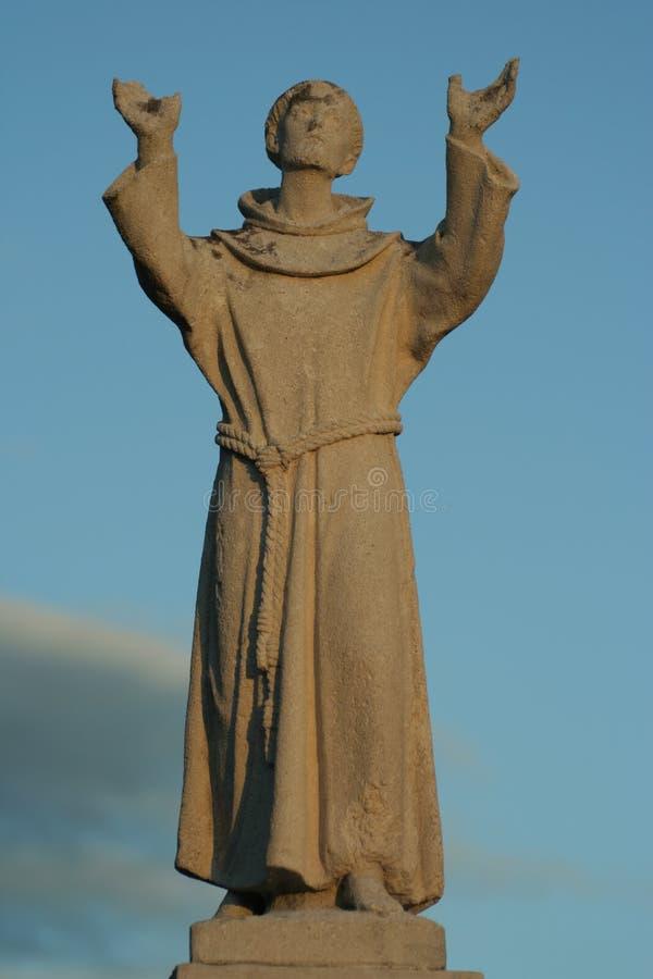 San Francesco Statue Royalty Free Stock Photo
