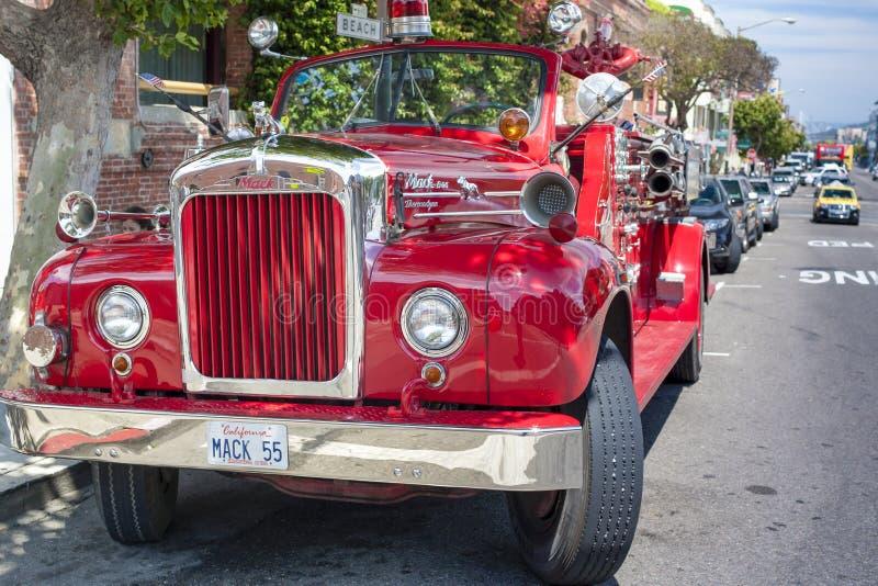 SAN-Francisco-ενωμένα κράτη, στις 13 Ιουλίου 2014: Αυθεντικό SAN-Franci στοκ εικόνα