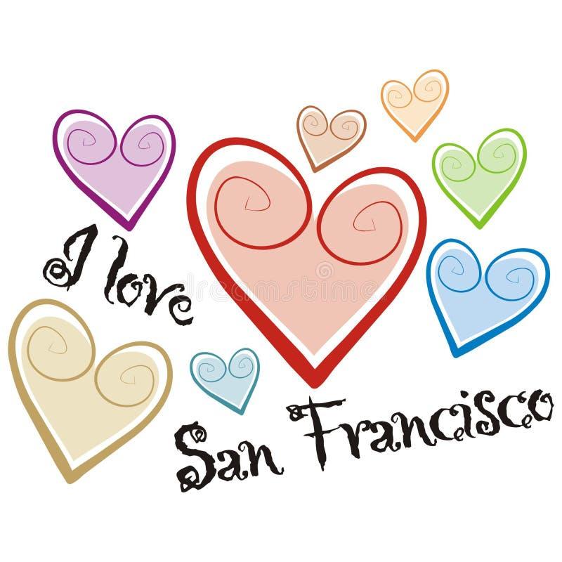 San Francisco illustrazione vettoriale