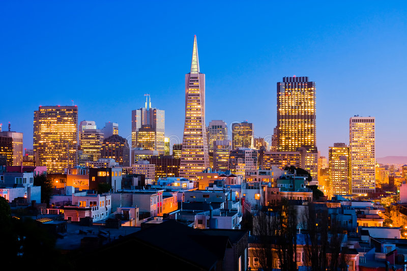 San Francisco royalty-vrije stock afbeeldingen