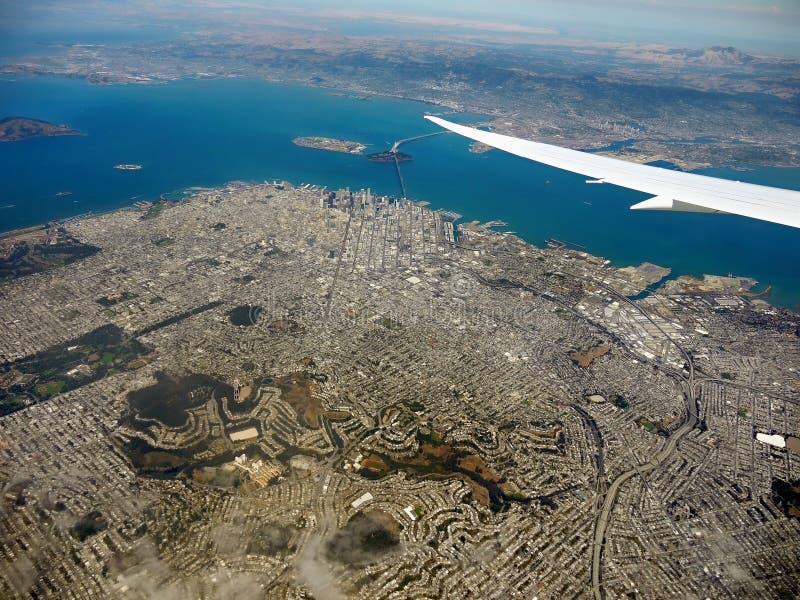 San Francisco, Aerial View royalty free stock photo