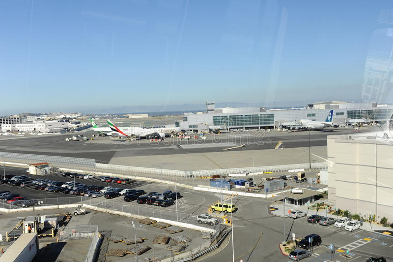 San Francisco Airport royaltyfri bild