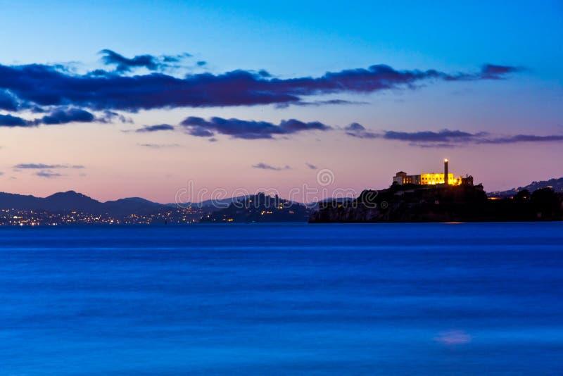 San Francisco, Alcatraz et Sausalito images libres de droits