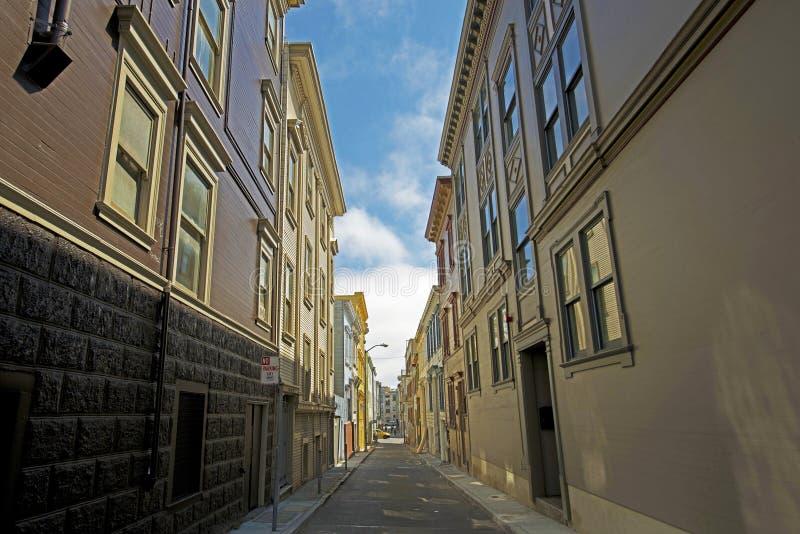 San Francisco Alley royalty free stock photo
