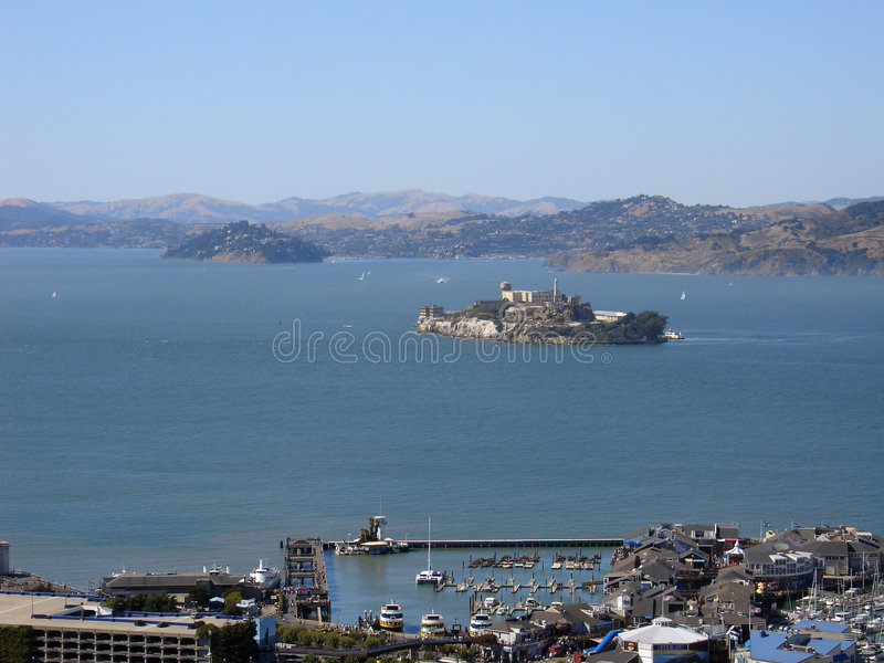San Francisco Bay imagem de stock