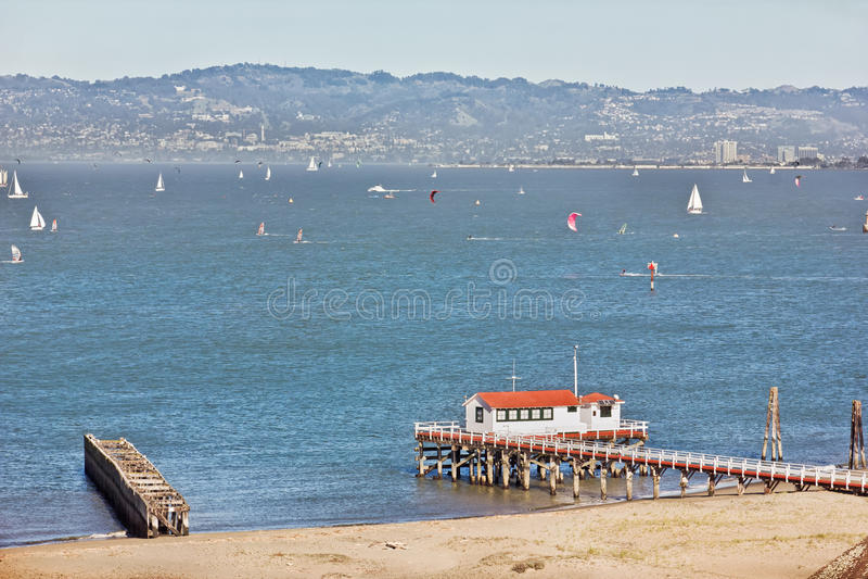 San Francisco Bay fotografie stock libere da diritti