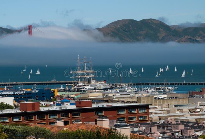 San Francisco Bay foto de archivo