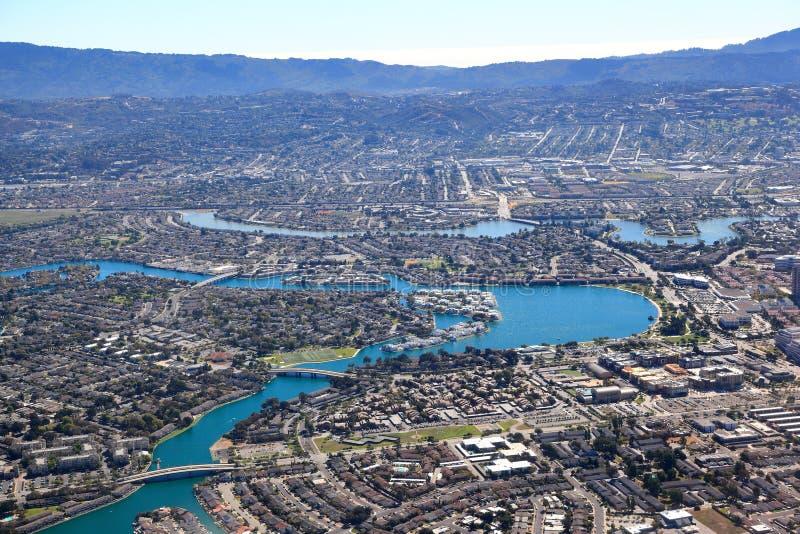 San Francisco Bay Area: Woonvoorsteden stock afbeelding