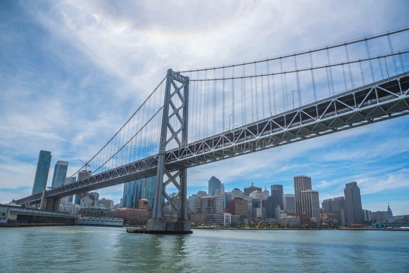 San- Francisco Baybrücke lizenzfreie stockbilder