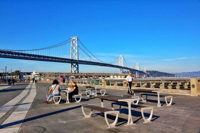 San- Francisco Baybr?cke lizenzfreie stockfotografie