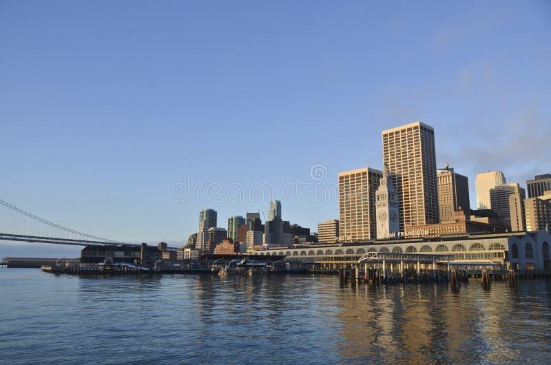 San Francisco Bayfront stock foto's