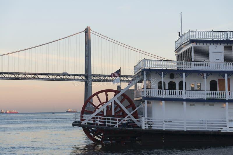 San Francisco Belle at dusk